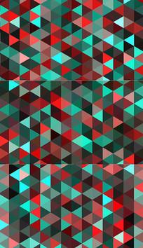 三角形led背景视频素材 mov