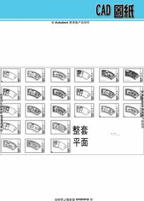 松江咖啡馆室内装潢方案CAD