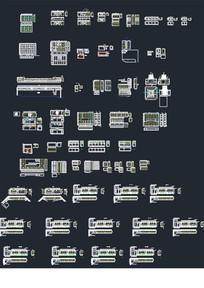 板式家具三视图