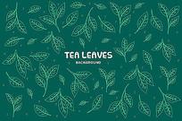 茶叶包装图案素材