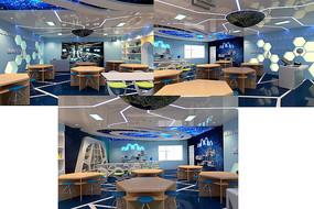 创客科技教室3D效果模型