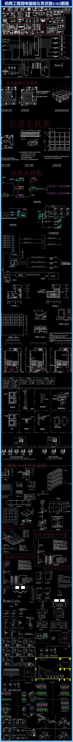 机房工程弱电智能化系统图