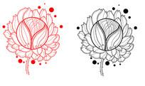 手绘原创设计花纹素材