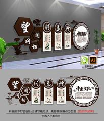 中医理疗针灸社区医院文化墙