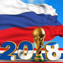 俄罗斯世界杯海报素材