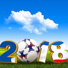 俄罗斯世界杯宣传海报素材
