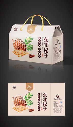 干果坚果包装礼盒 AI