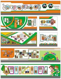 校园文化艺术长廊文化设计