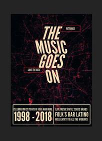 音乐节音乐会艺术节海报设计