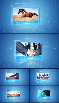 科技简洁图文展示宣传AE模板