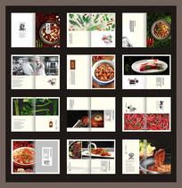 美食菜谱模板