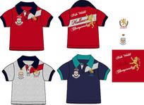欧美童装T恤 童装设计