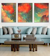 现代简约抽象艺术抽象装饰画