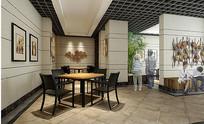 木质装饰现代餐厅