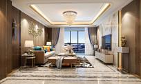 现代客厅轻奢风格