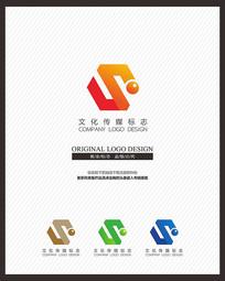 影视文化传播企业标志设计