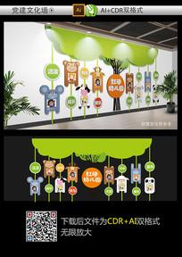 经典幼儿园文化墙设计