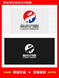 PW字母WP标志建筑logo