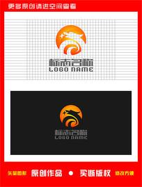 SY字母标志龙传媒logo