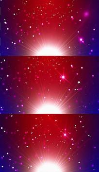 粒子阳光舞台背景视频素材