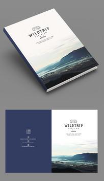 国际版式商务品牌画册封面