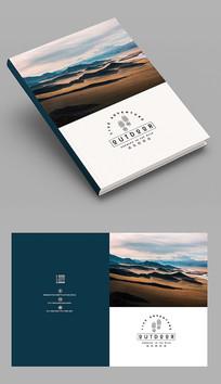 蓝色集团公司企业画册封面