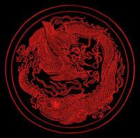 龙纹装饰图案