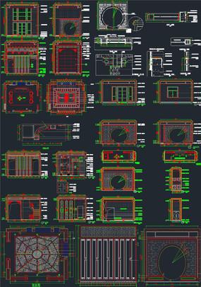 中式元素设计CAD