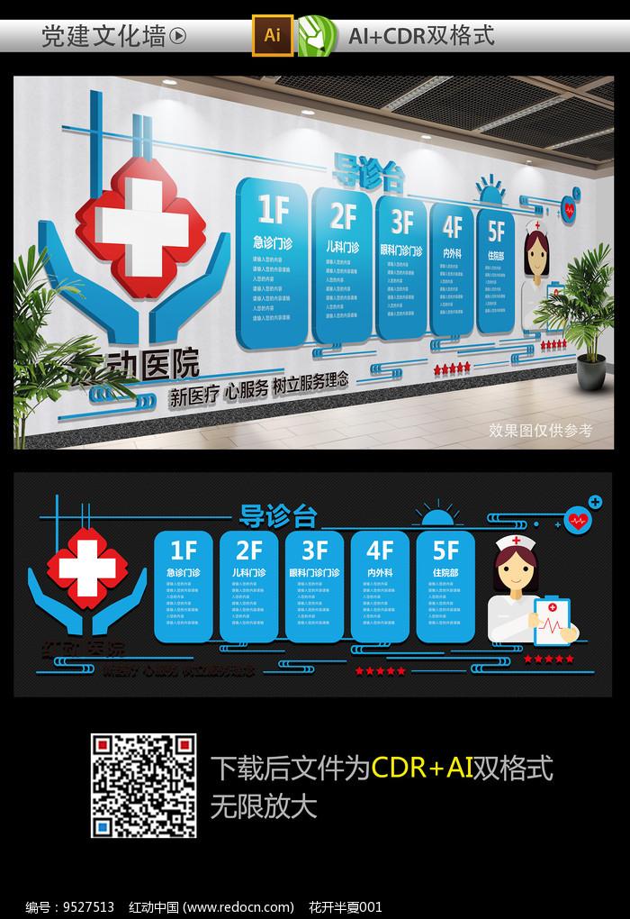 经典医院文化墙图片