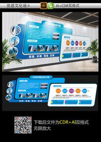 精品企业文化墙设计模板
