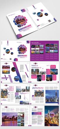 香港旅游景点画册