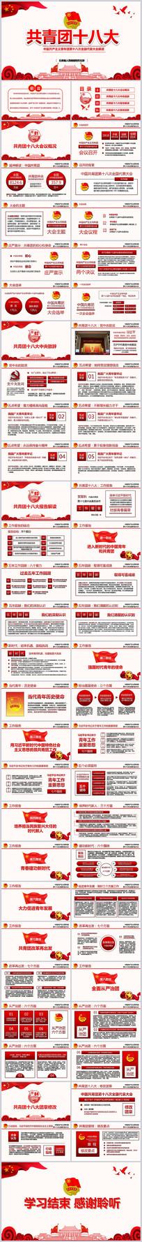 中国共青团十八大会议PPT