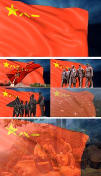 歌曲人民军队忠于党背景视频