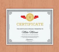 聘书荣誉证书模板设计