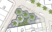 广场花池设计意向图