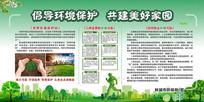 环境保护宣传展板