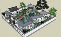 中式小型古典园林规划