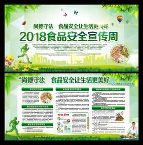 2018食品安全宣传周展板