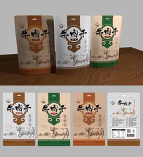 牛肉干包装袋设计