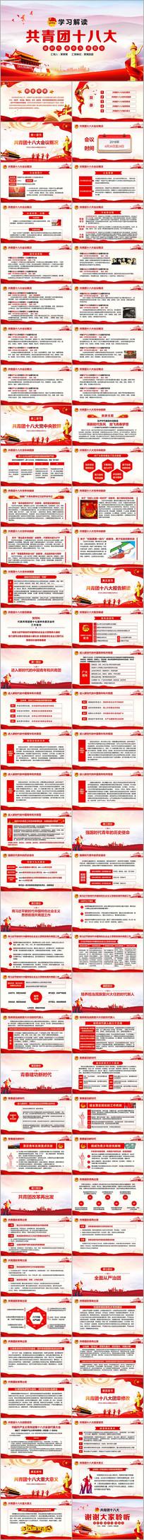 中国共青团十八大解读PPT