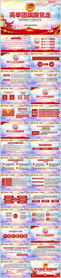 中国共青团十八会议PPT