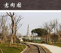 白塔公园景观
