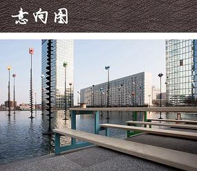 城市滨水商业广场景观