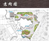 流动休闲广场平面图 JPG