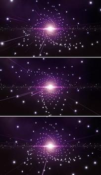 粒子星空背景视频