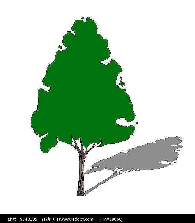 绿色乔木图片