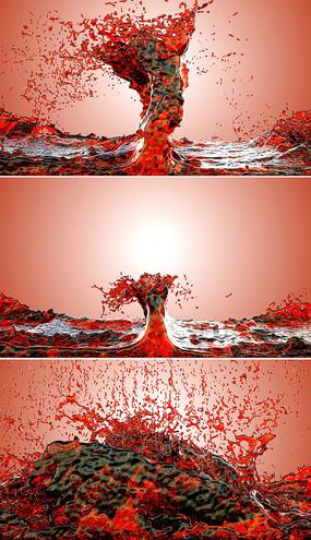 葡萄酒广告视频素材