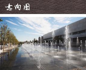 水景喷泉广场
