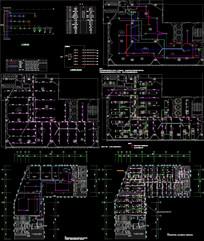 展厅消防设计图CAD