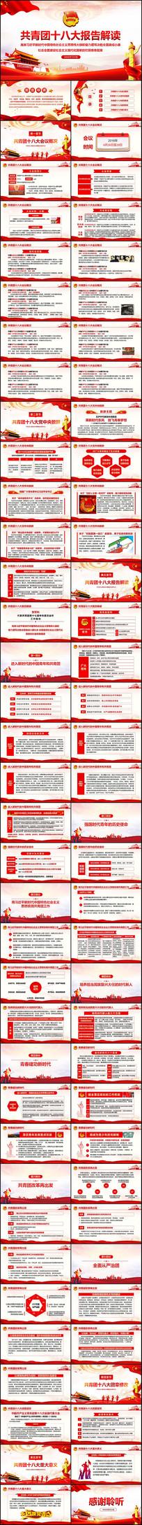 党中央致辞共青团十八大PPT